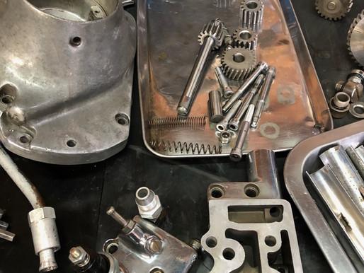 Rebuilding the motor foe Shovel Head!!