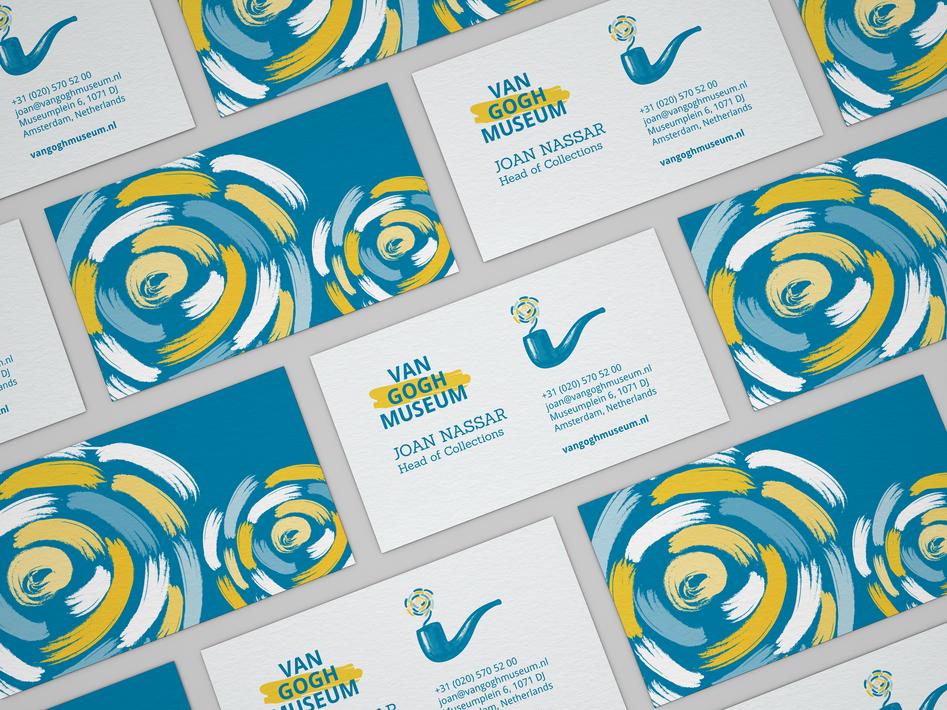 Business Card Van Gogh Museum