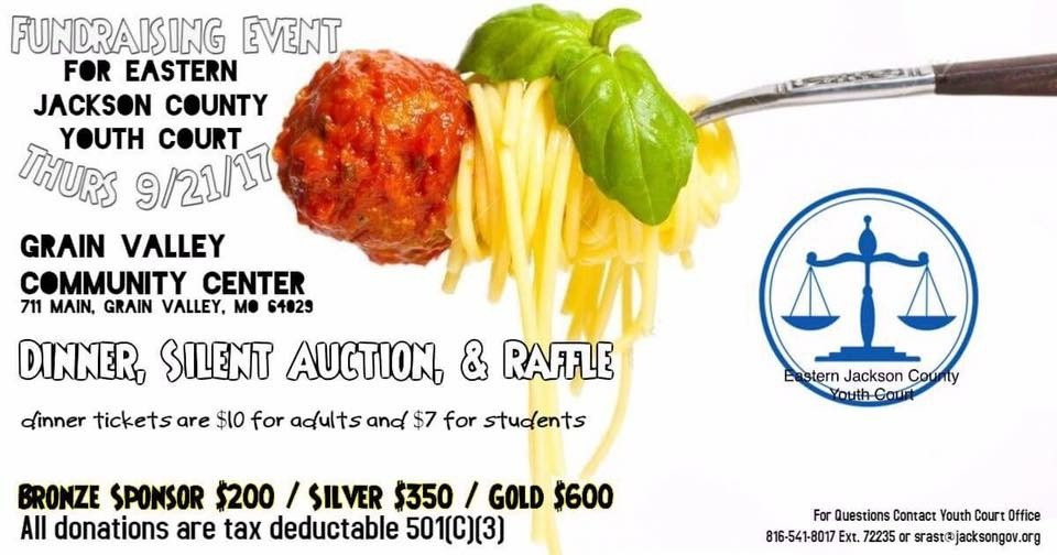 Join us for a fun night!  Thursday September 21, 2017 Help support a wonderful program serving the youth of Eastern Jackson County.