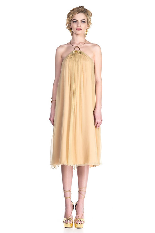 Maya Dress - 100% natural silk