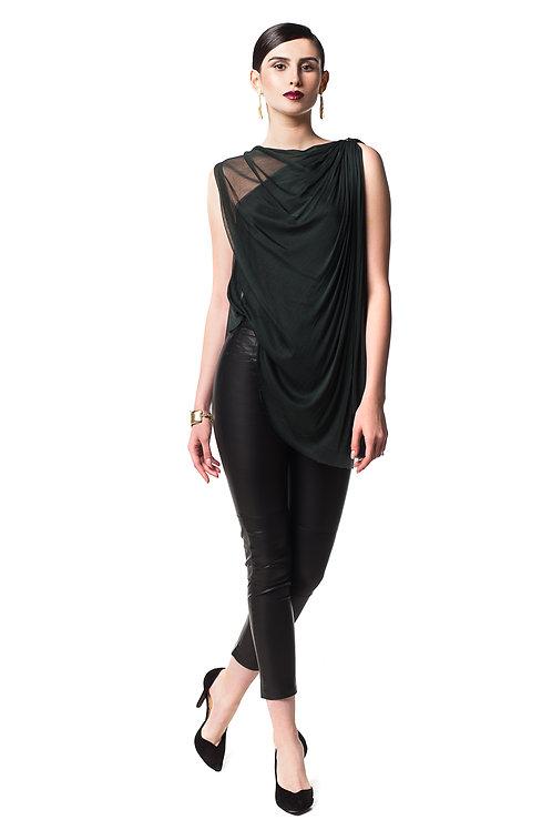 Drape Top - 100% silk