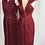 Thumbnail: Classic/ Low-Cut Reflection Dress - 100% silk