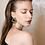 Thumbnail: Lobe Earrings - 24k gold-plated