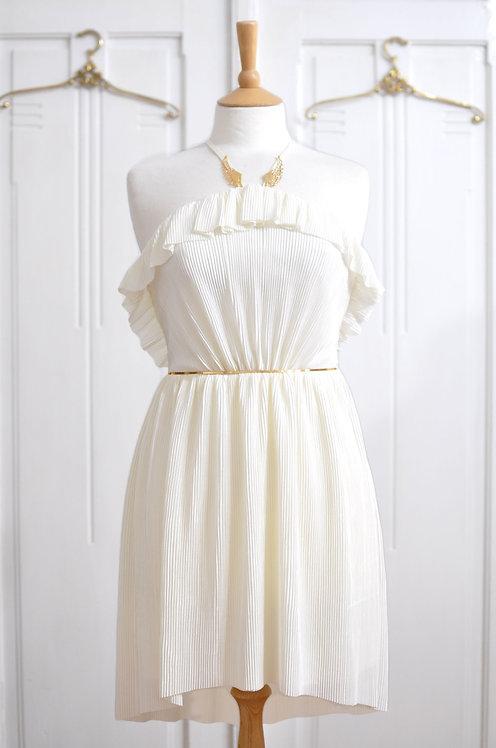 Rochie Spumă de alb