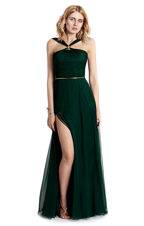 Scarab Dress - 100% natural silk