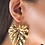 Thumbnail: Colocasia Earrings -  24k gold-plated