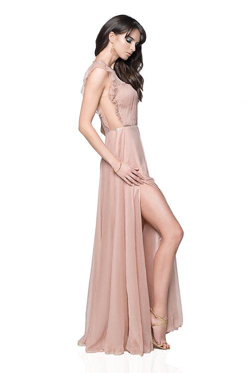 Wings Dress - 100% natural silk