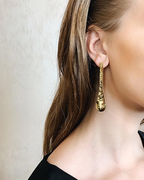 LD Earrings - 24k gold-plated