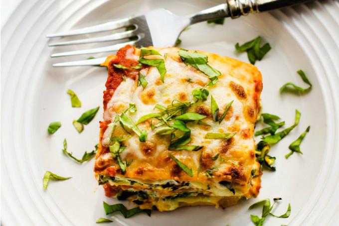 Lasagna, vegetarisch, Italiaans, frans, Yoga
