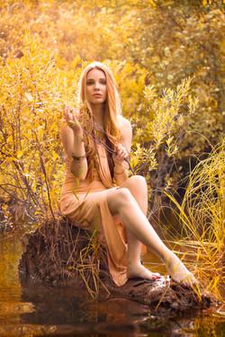 Lake Golden Goddess Portrait 2