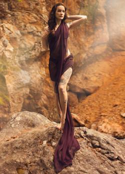 Canyon Warrior Goddess Portrait