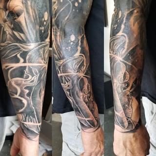 Mermaid Tattoo by David Baran