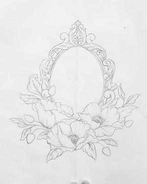 Flowers Tattoo by Larissa Long