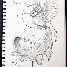 Filigree Bird by Larissa Long