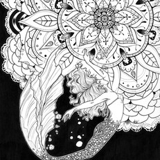 Mandala Mermaid - Audrey May