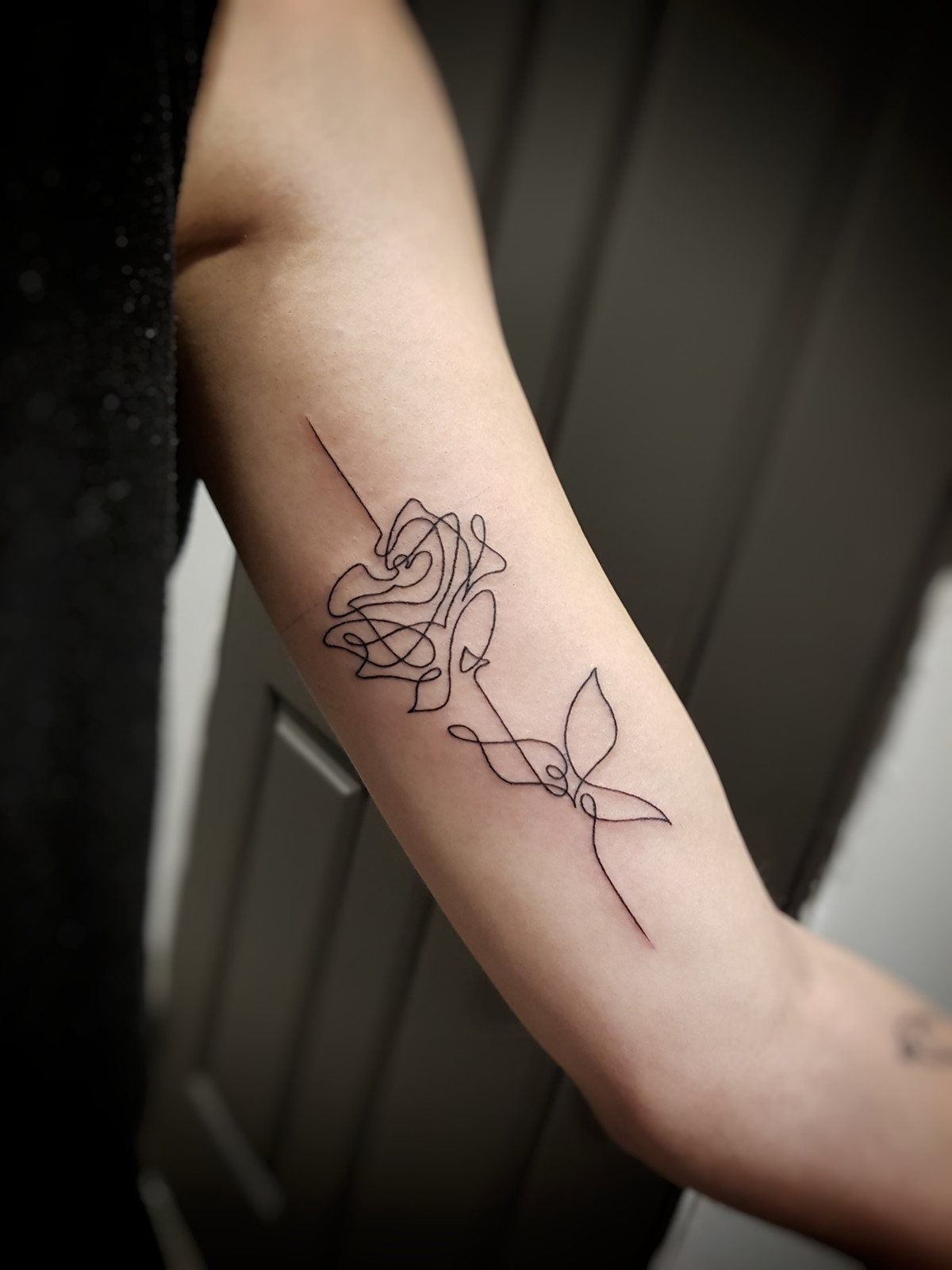 367a86700dce2 Abstract Rose Tattoo by Larissa Long