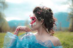 Cinderella Flower Fairy Photoshoot