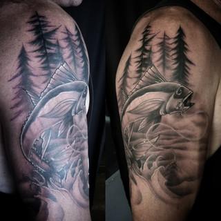 Bc Fish Tattoo by David Baran