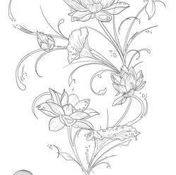 Lotus Back Piece by Larissa Long