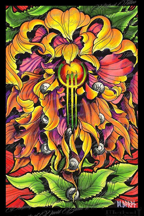 poison flower[print] by David Baran