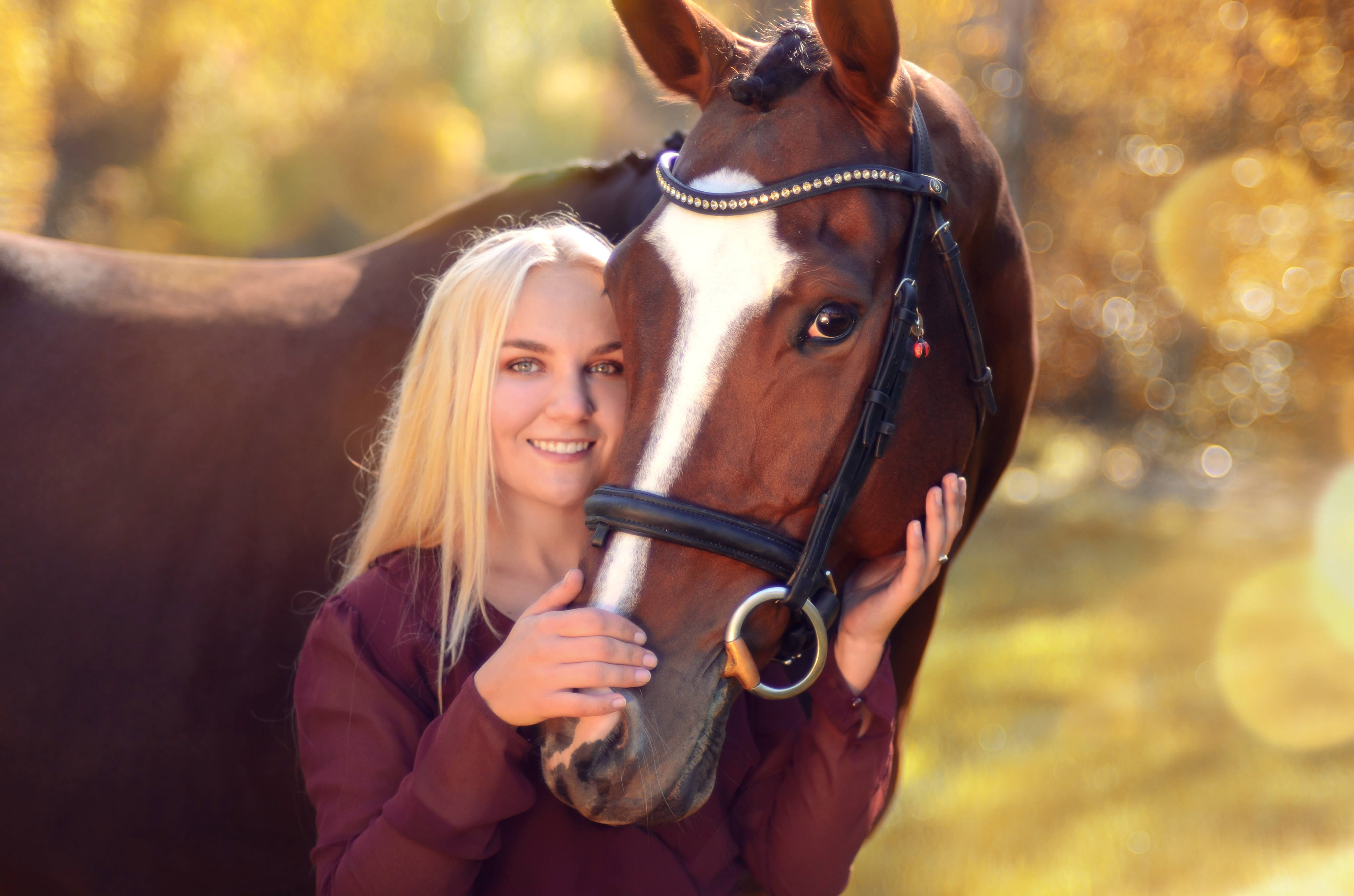 Equine Photography Girl and Horse