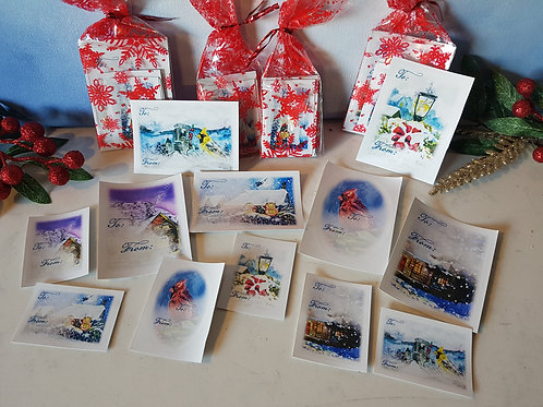 To/from Christmas Gift Stickers