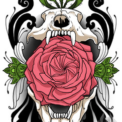 Bear Skull - Audrey May