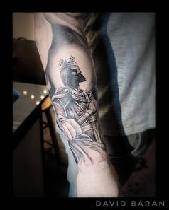 King Tattoo by David Baran