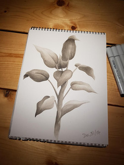 Realistic leaves by Larissa Long