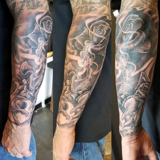 Scorpian Tattoo by David Baran
