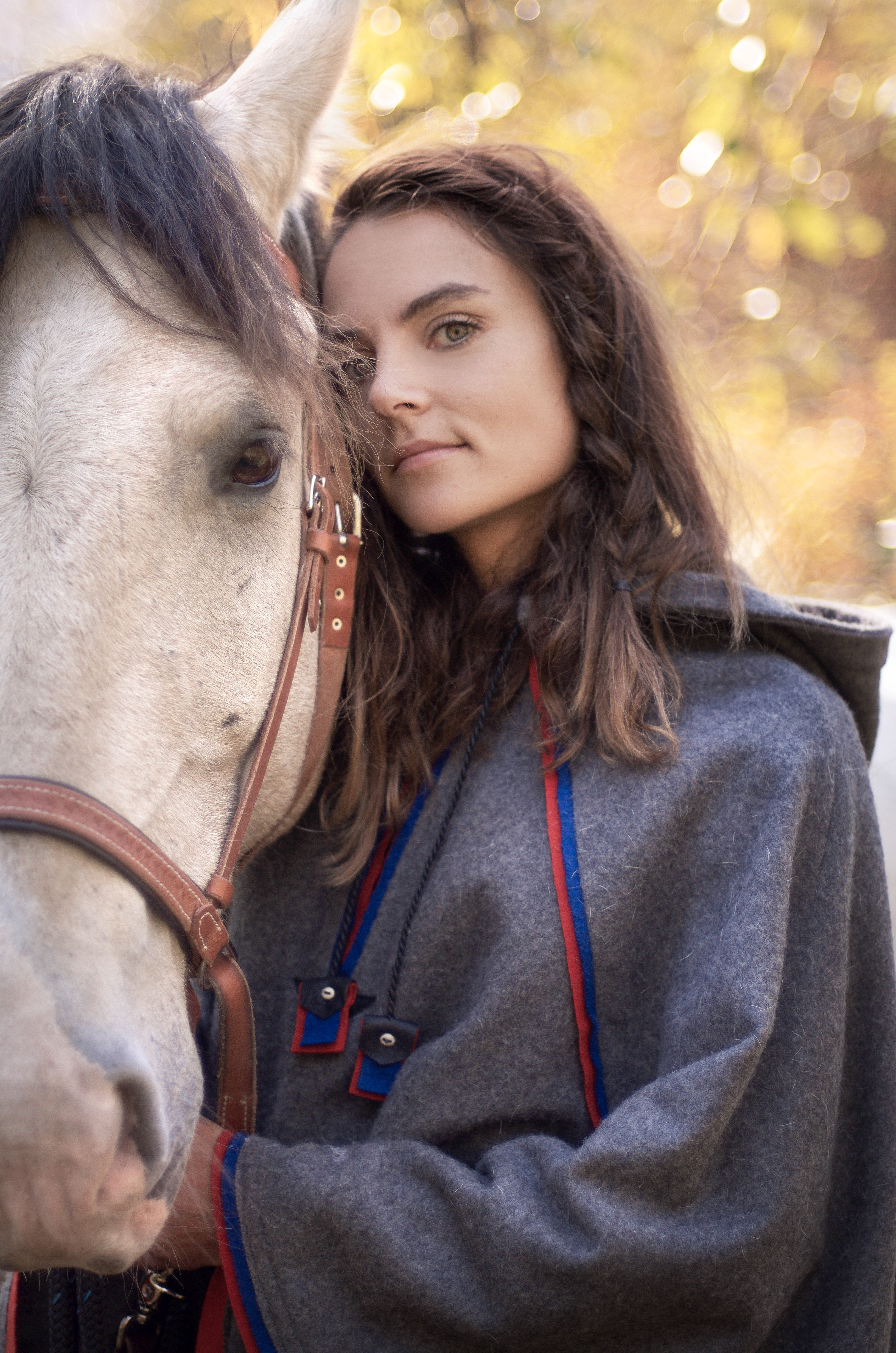 Equine and Girl Portrait Photography
