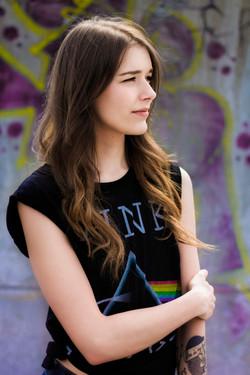 Skate Park Girl Portrait