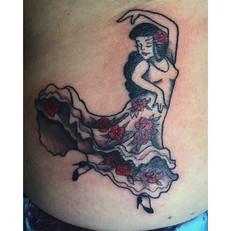Flamenco Dancer - Audrey May