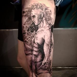 Prometheus Tattoo by David Baran