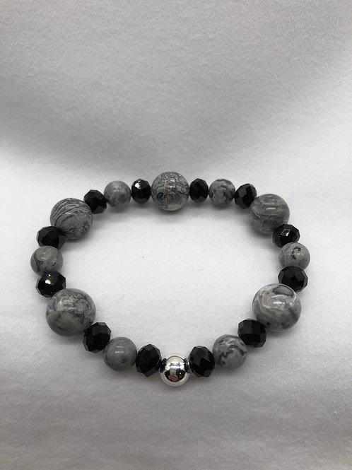 Black & Gray Bracelet