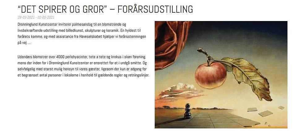 Danny Heinricht udstiller i Dronninglund Kunstcenter