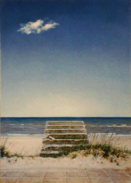 """""""Trappe ved stranden"""""""