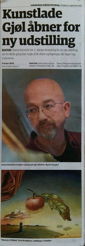 Artikel Aabybro Posten Danny Heinricht 2