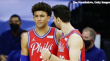 What will the 76ers' playoff rotation look like?