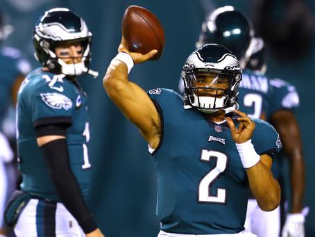 The Eagles have a quarterback problem. Again.
