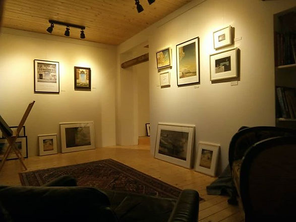 Galleriets hyggerum. Kunstlade Gjøl er D