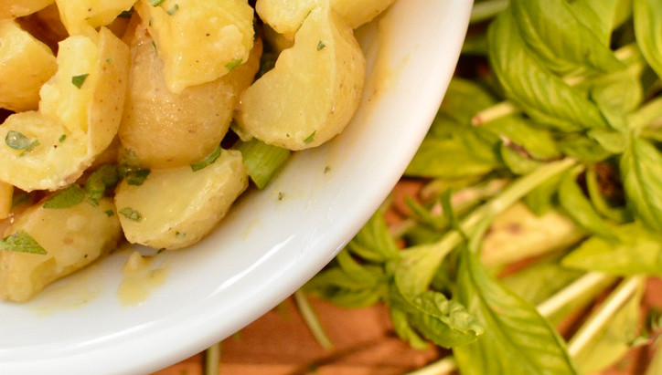 Late Summer Herb Potato Salad