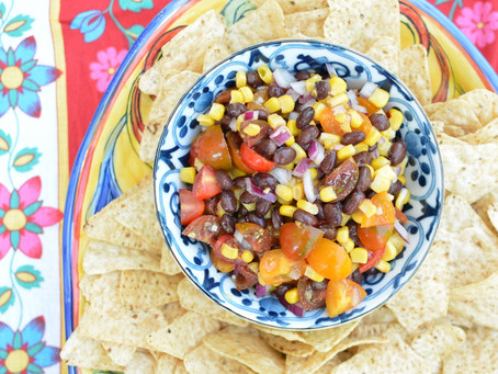 Quick Corn and Bean Salsa
