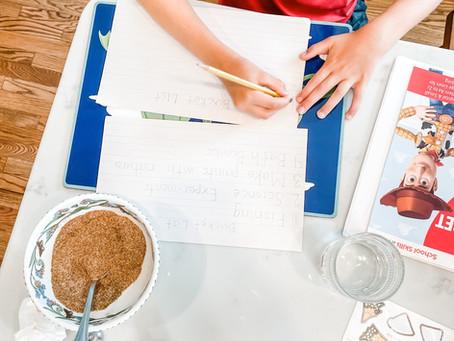 3 things to Toss when Starting Homeschool