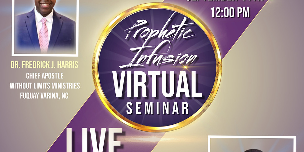 Virtual Prophetic Infusion Seminar... pt. 3