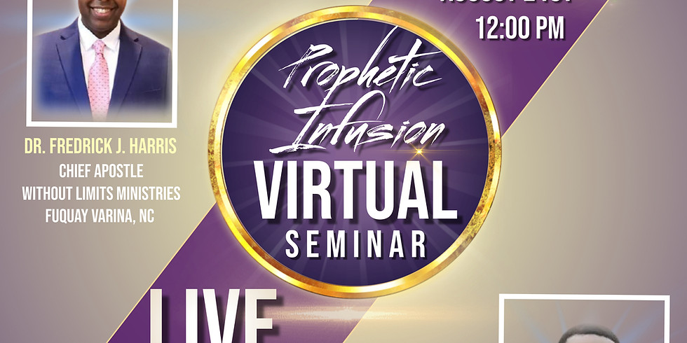 Virtual Prophetic Infusion Seminar... pt. 2