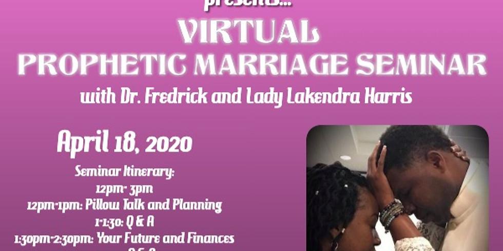 Prophetic Marriages Seminar