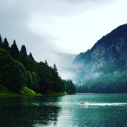 Wild Swimming And Walking The French Alps