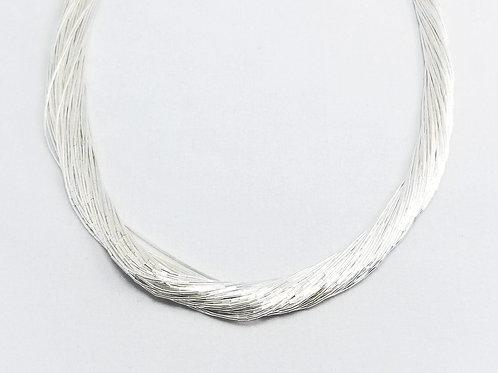 Brand New Liquid Silver Necklace
