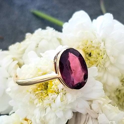 RARE Antique 18k Color Change Sapphire Ring